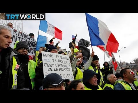 Yellow Vest protesters team up France's largest trade union | Money Talks