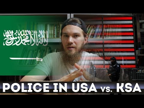Police in America vs. Saudi Arabia