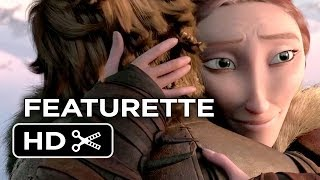 how to train your dragon 2 featurette a family reunited 2014 cate blanchett sequel hd