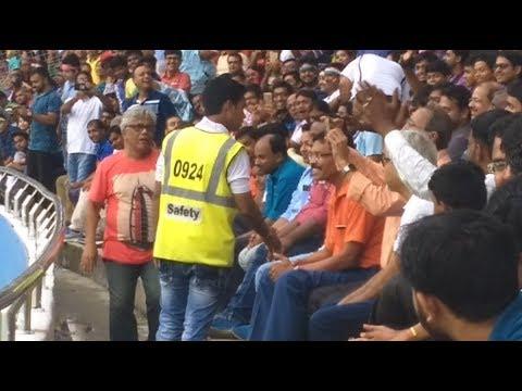 old man dance during FIFA World cup  | kolkata | chile vs england