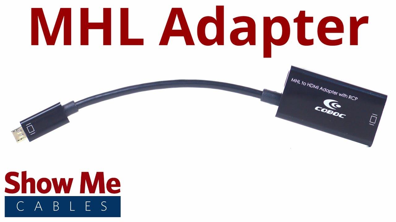5 pin micro usb to hdmi mhl adapter 3613 [ 1280 x 720 Pixel ]