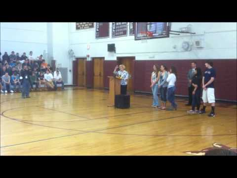 WBHS Class of 2011 Yearbook Dedication to Colleen Kelley