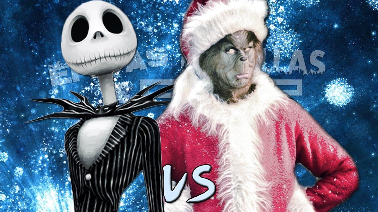 Jack Skeleton vs El Grinch. Épicas Batallas de Rap del Frikismo ...