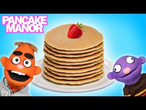PANCAKE PARTY♫ | Learning Foods | Kids Songs | Pancake Manor