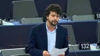 Intervento in aula di Brando Benifei sui negoziati di adesione dell'Albania e Nord Macedonia