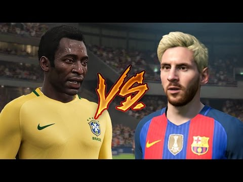 MESSI vs PELE - Who's really the best of all time in FIFA ???