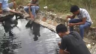 taman rekreasi pemandian air panas desa senama nenek kampar riau