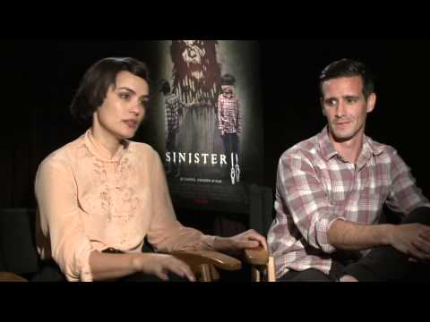 Sinister 2: Shannyn Sossamon & James Ransone Exclusive Interview
