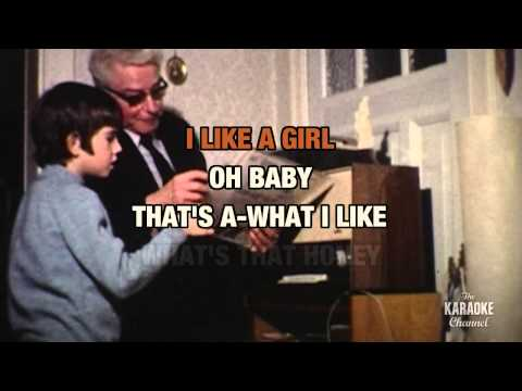"""Chantilly Lace in the Style of """"Big Bopper"""" with lyrics (with lead vocal)"""