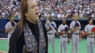 1994 Asg: Meat Loaf Performs National Anthem