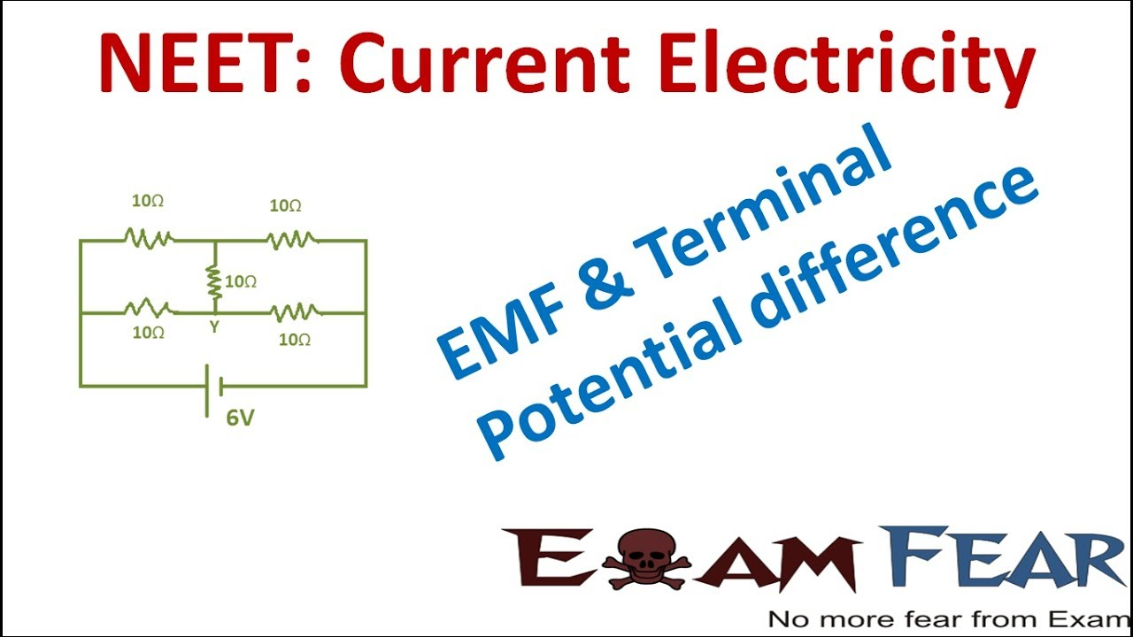 frees ands of different between electromotive force and potential