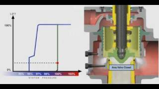 全量式彈簧式安全閥作動演示 Pressure Relief valve Performance testing