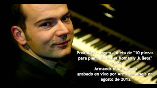 Prokofiev Juliet the Young Girl Armands Abols live 8 2012