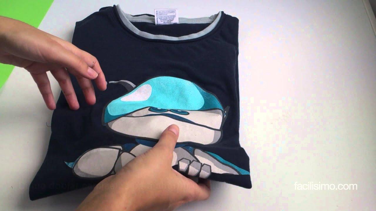 Cómo Doblar Camisetas Para Ahorrar Espacio | Facilisimo.com   YouTube