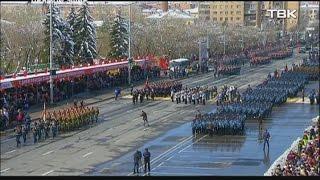 Парад победы в Красноярске: лучшие моменты