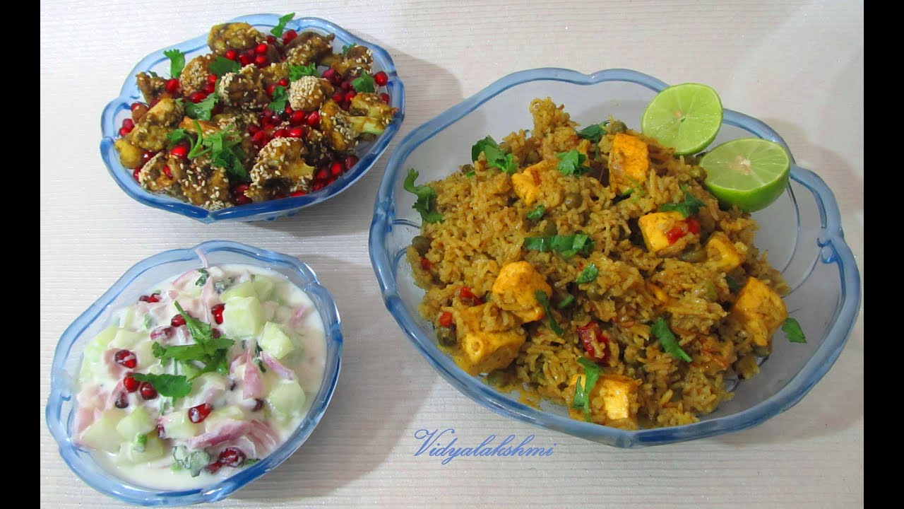 Paneer Pulao recipe in tamil - YouTube