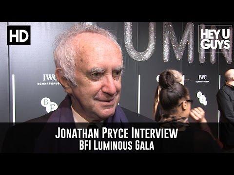 Jonathan Pryce Interview - BFI Luminous Gala 2015
