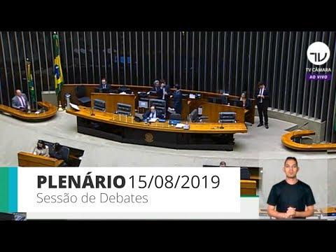 Plenário - Sessão de debates - 15/08/2019 - 14:00