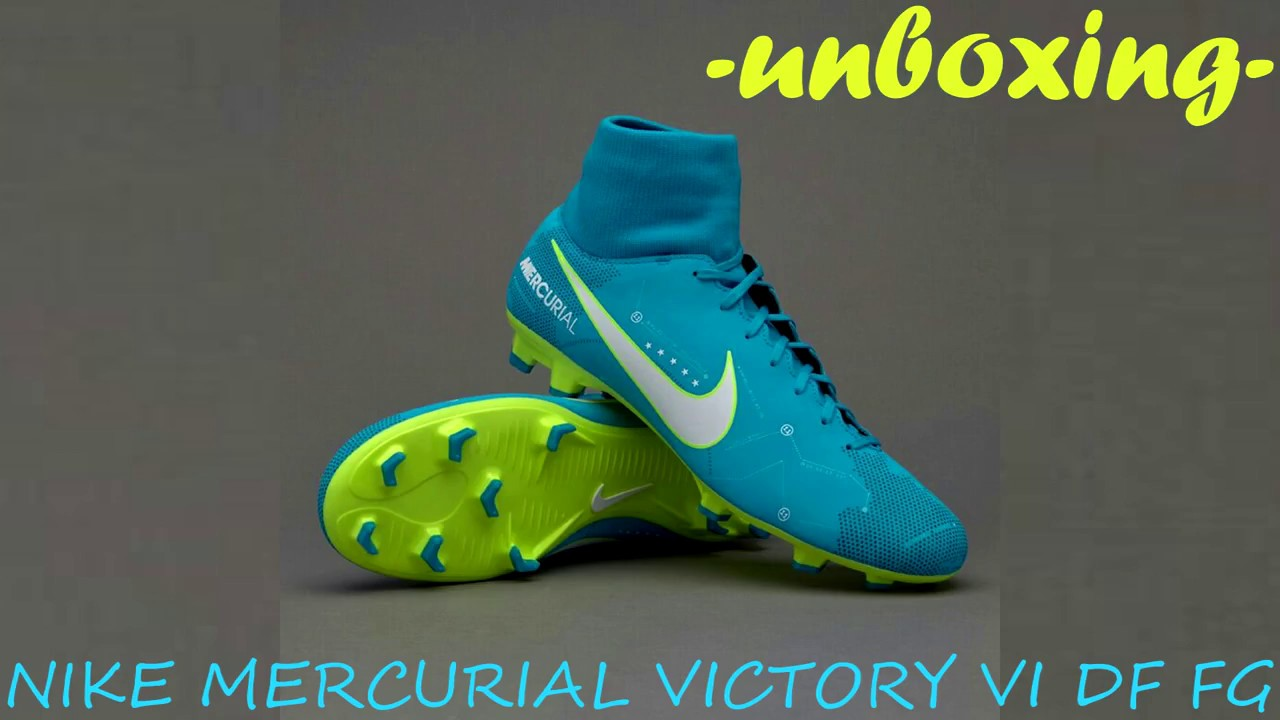 new product 1948d 703a6 UNBOXING NEYMAR JR NIKE MERCURIAL VICTORY VI DF FG
