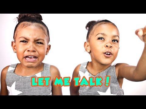 LET ME TALK!! (hysterical twin talk)