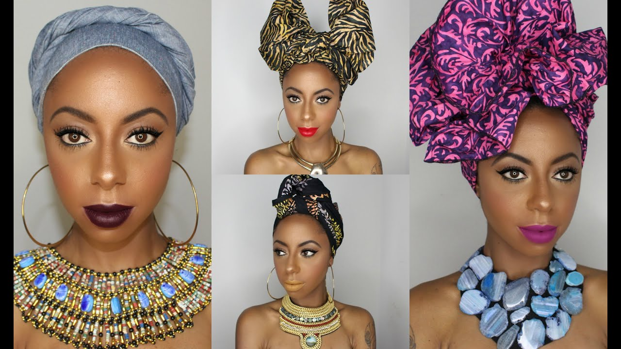 4 Different Ways To Tie A Headwrap Turban Jessica