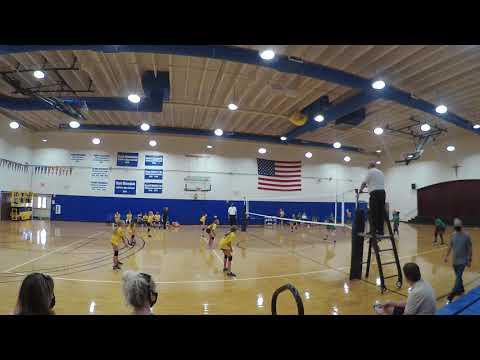 TVS Vs. Donahue Academy Lower School Volleyball Game 9-22-20   Vid. 4