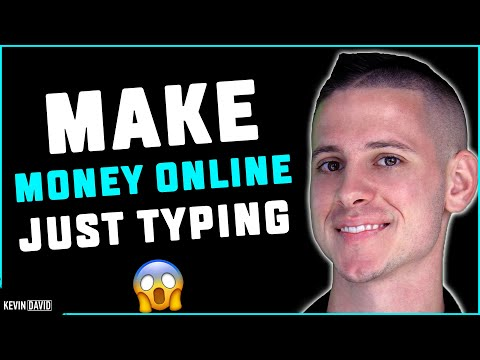 Make Money by Typing: Writing $200 to $800 per Day! EASY HACK!