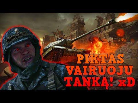 PIKTAS VAIRUOJU TANKĄ! // World Of Tanks thumbnail