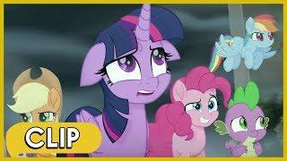Climbing Mount Aris / Meeting Princess Skystar - My Little Pony: The Movie [HD]