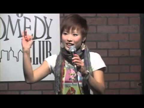 """Kaori""-Japanese Standup Comedian at New York Comedy Club"