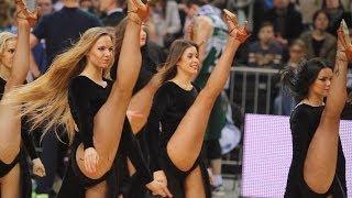 James Bond's 007 Zalgiris Kaunas cheerleaders!