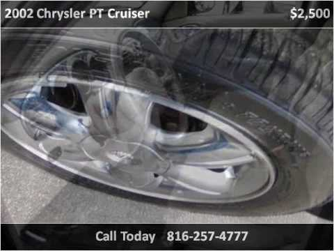 2002 chrysler pt cruiser used cars independence mo youtube. Black Bedroom Furniture Sets. Home Design Ideas