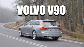 Volvo V90 2017 D5 (ENG) - Test Drive and Review