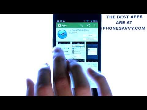 Software Data Cable Pro - Android App Review - Must Have Application For Android