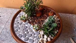 Passeio para mini jardim / Patio for mini garden