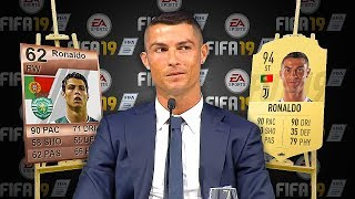 5 WONDERKID Footballers FIFA 19 RATINGS Then and NOW! (Ronaldo, Mbappe, Messi)