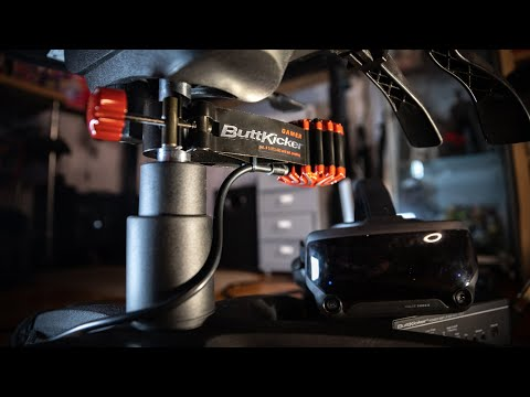 ButtKicker Gamer 2 Review: Amazing Audio Haptics in VR!