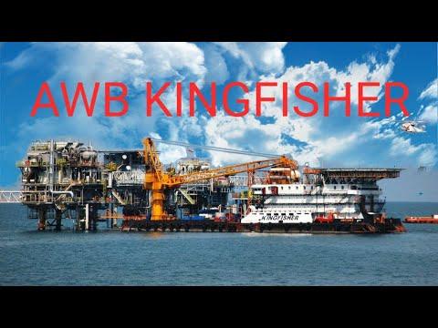 ACCOMODATION WORK BARGE  KINGFISHER