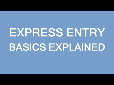 Express Entry Selections Basics. How EE Works?