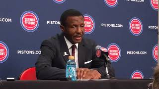 Dwane Casey: Jrue Holiday, Julius Randle too much to handle for Pistons thumbnail