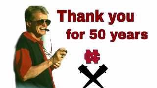 North Central College Men's Cross Country Thanks Al Carius