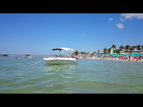 Fort Myers Beach - paradise on Florida's Gulf Coast  HD views !