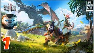 taichi Panda 3: Dragon Hunter - первый взгляд, обзор, летсплей, геймплей (Android Ios)