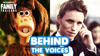 Early Man | Behind the Voices of the family animted movie with Eddie Redmayne