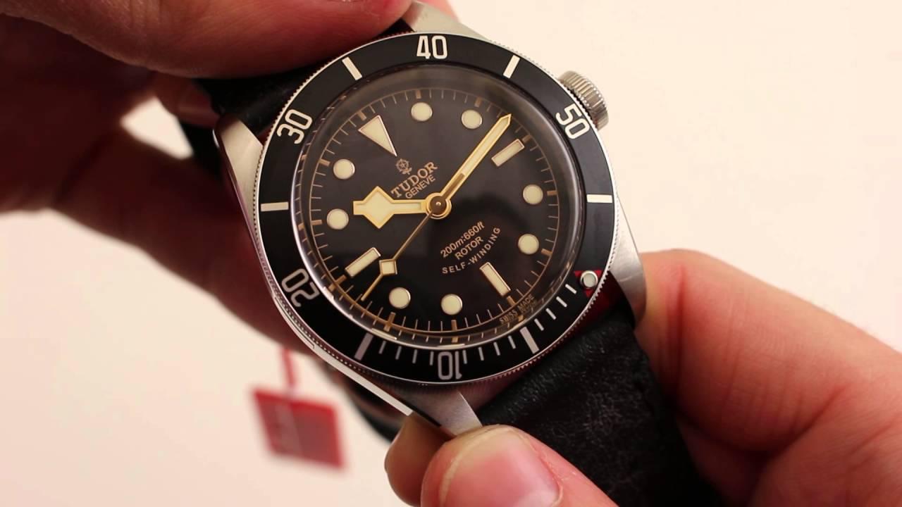 987c4784315 Tudor Heritage Black Bay 79220N Luxury Watch Review - YouTube