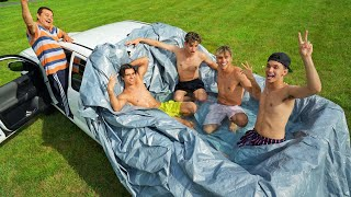 INSANE PICKUP TRUCK POOL CHALLENGE!
