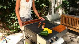 Fuego 02 Freestanding 25 Inch Electric Grill Single Electric Element Burner - Product Review Video