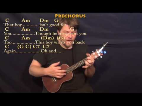 This Boy (The Beatles) Ukulele Cover Lesson In C With Chords/Lyrics