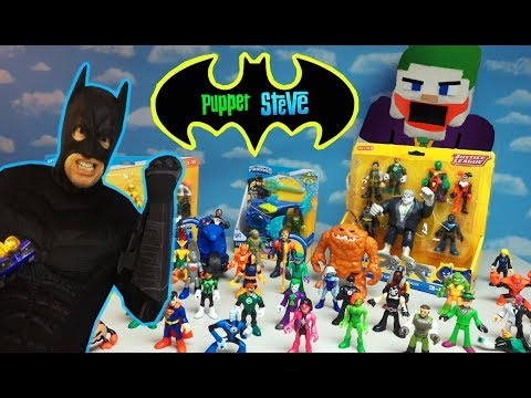 BATMAN vs JOKER MOVIE Imaginext TOYS w/ Batman IRL UNBOXING!