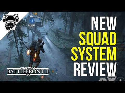 New Squad System - REVIEW + GAMEPLAY - Star Wars: Battlefront 2